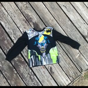 Boys Batman long sleeve size 6/7
